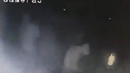 CCTV showing two of the men.