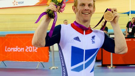 Jody Cundy won bronze in the 2012 London Paralympics. Picture: Paul Sanwell/OP Photographic