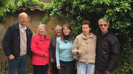 Down to earth: members of the Whittlesey Mud Walls Group