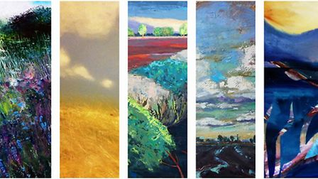 Some of the art that will be on display at Babylon Arts.