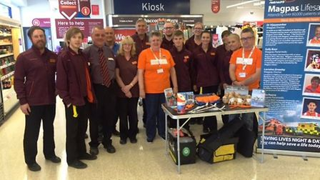 Sainsbury's Marchofficially launches its Magpas charity of the year appeal