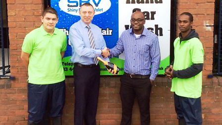 Car wash launches at the Horsefair shopping centre in Wisbech