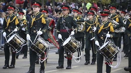 Romford Drrum and Trumpet Corp will be at Whittlesey Festival