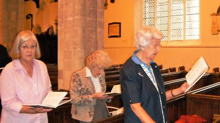 Margaret Bailey celebrates 75 years as a member of the church,