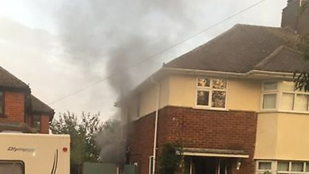 Lucky escape for Ely family after fire breaks out overnight.