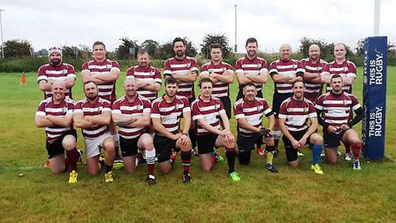 The March Bears squad for the visit of St Ives 2nds.