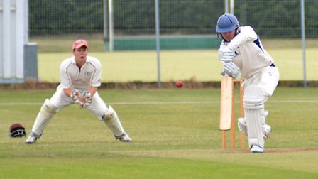 Captain Ryan Withers hit 50 as St Ives were frustrated in their attempts to secure the Tucker Gardne