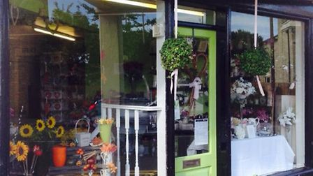 Brenda's Flowers new window display is part of Soham Town Team's initiative to unite the town centre