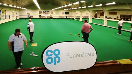 Action from the Ely leg of Co-op Funeralcare's Wildcard Bowls competition.