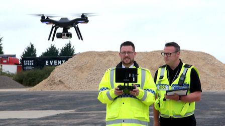 Cambridgeshire Police have been trained to use drones to fight crime