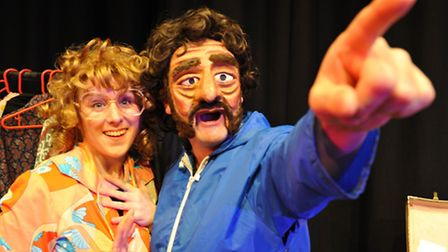 Abi Hood and Kevin Tomlinson in 'Crazy Little Thing Called Love'.