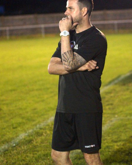 Whittlesey Athletic boss Andy Lodge. Picture: Andrew Hazelden