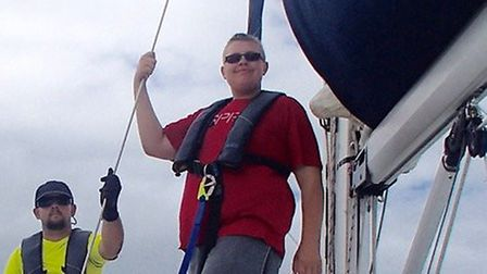 Ryan Large on his journey across the Solent.