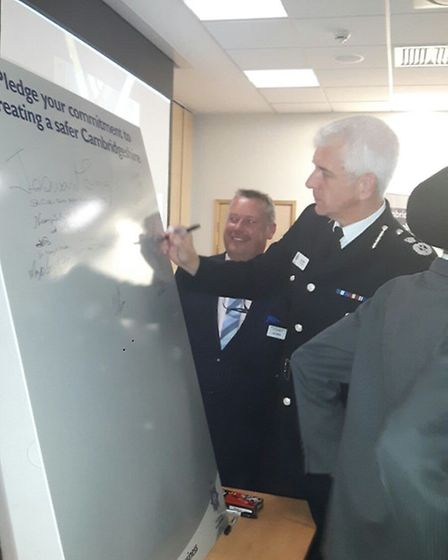 A multi-cultural community event was held at Cambridgeshire Constabulary headquarters