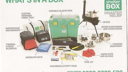 Ely's two Rotary Clubs have joined to buy a shelter box for victims of the Italian earthquake