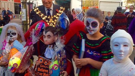 Horsefair shopping centre in Wisbech hosts its annual Halloween event with free activities for child
