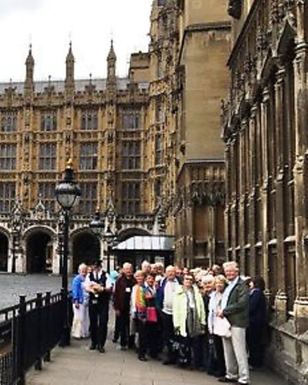 Ely Decorative and Fine Arts Society visit to the Houses of Parliament