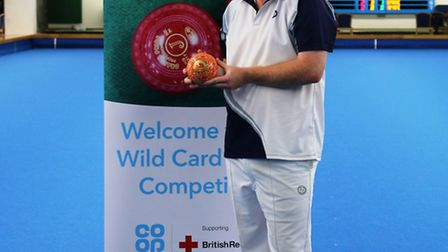 Winner of the Co-op Wildcard Bowls Competition, Connor Cinato.