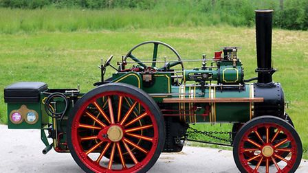 Foster AgEngine was one of more than £1 million worth of vintage tractors, steam engines, classic v