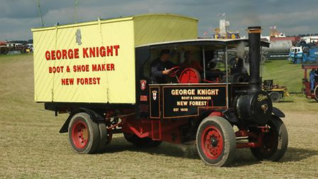 Foden was one of more than £1 million worth of vintage tractors, steam engines, classic vehicles an