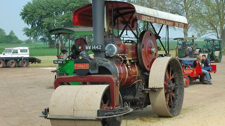 Dorothy was one of more than £1 million worth of vintage tractors, steam engines, classic vehicles