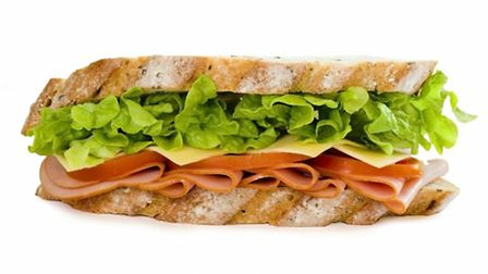 A recruitment is offering a free sandwich on a Friday to prospective employees at a factory in Newma