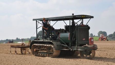 The Holt 75 tractor, which will go on sale at Cheffins at their October auction.