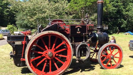 The 1930 Aveling and Porter Steam Tractor.