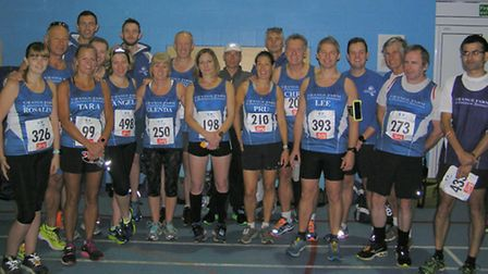Grange Farm and Dunmow Runners before the Tiptree 10