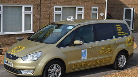 Ely taxi firm, A10 Taxis.