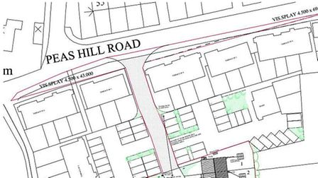 Fenland Council recommending approval of 9 homes land west of 126-132 Elliott Road accessed from Pea