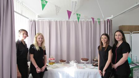 Coffee morning at Cromwell Community College, Chatteris