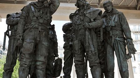 The Bomber Command Memorial in London