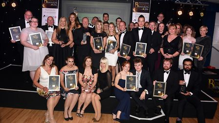 2016 Fenland Business Awards at March Braza. All of the winners.