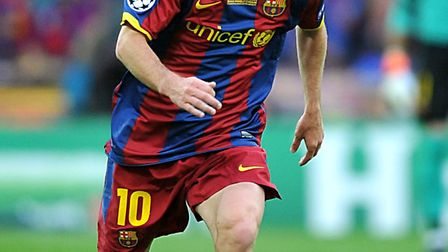 Lionel Messi has donated a signed Barcelona shirt to the fundraiser in aid of injured footballers Sh
