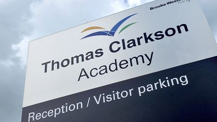 Thomas Clarkson Academy, Wisbech. Picture: Steve Williams.