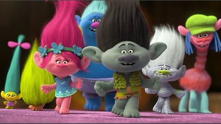 Trolls is showing at the Light Cinem at Wisbech