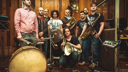 The Hackney Colliery Band.