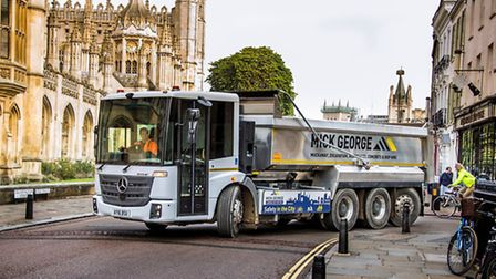 Mick George uses state of the art vehicles for its city contract