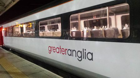 Greater Anglia officially launch its new nine year franchise. One of the new liveried train