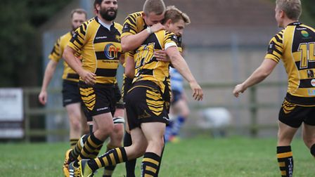 Action from Ely Tigers' London 3 North East contest with Wanstead. Photo: Steve Wells