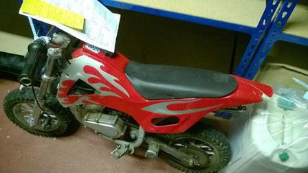 Police are looking to find the owners of these items that are believed to be stolen.