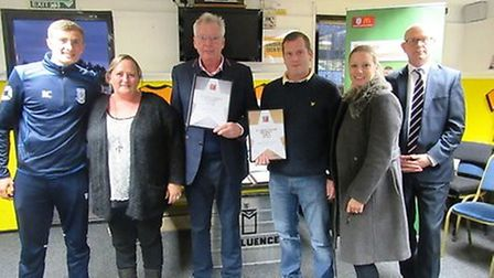 March Soccer School won two awards at the FA Community Awards.