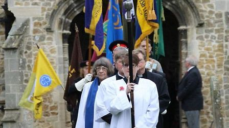 Remembrance Day at Littleport (PHOTO: Courtesy of Littleport Life group)