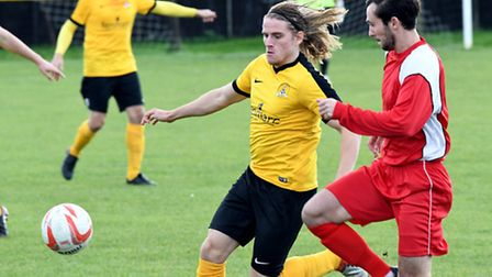 New signing Jack Brand couldn't find the net in March Town's 4-1 defeat to Woodbridge Town.