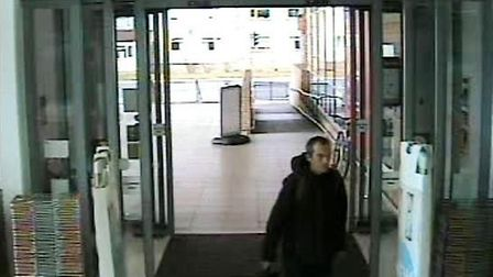 Do you recognise this man? Police would like to speak to him in connection with an attempted theft i