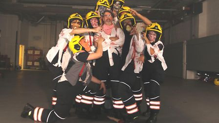 Cambridgeshire firefighters release thrilling video to promote Halloween safety.