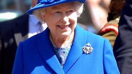The Queen visited Newmarket in 2011