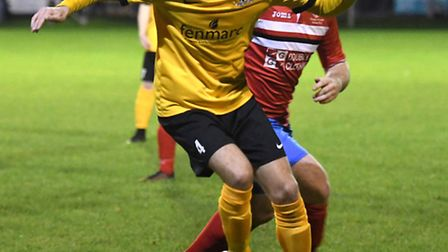 Adam Conyard netted March Town's only goal as they slipped to a 3-1 defeat against King's Lynn Town