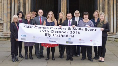 The East Cambridgeshire Career and Skills Show brought together young people and local employers to